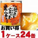 いのうえ果樹園 海辺で育った果実たち みかん 170g×24缶/1ケースセット