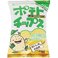 創健社 ポテトチップス  薄塩 60g