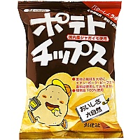 創健社 ポテトチップス バターしょうゆ味 60g